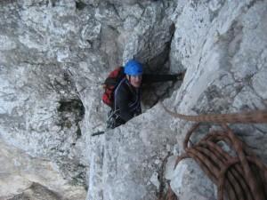 Na vrhu vstopnega kamina
