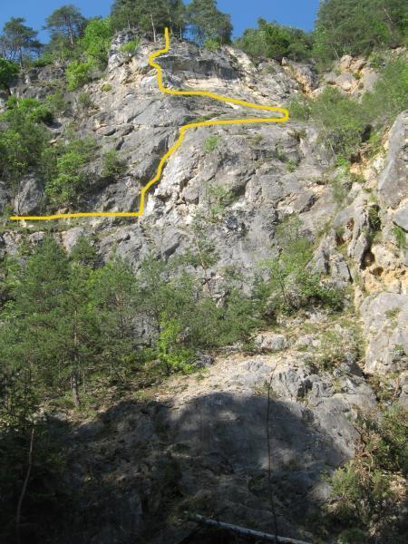 Ferata, zavarovana plezalna pot
