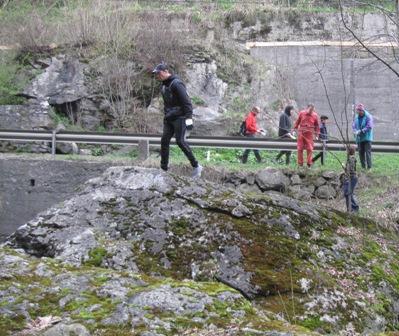 Votla peč - naravni most čez reko Mežo