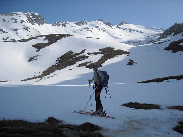 V ozadju vrh Romatenspitze, 2696 m