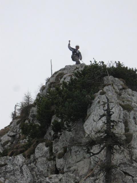 Zadnji metri proti vrhu