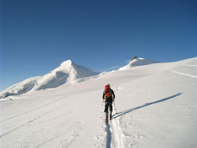 Čez ledenik Feegletscher