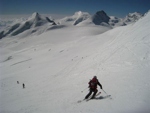 Spust z Alphubla – 2400 višincev do Sass Feeja
