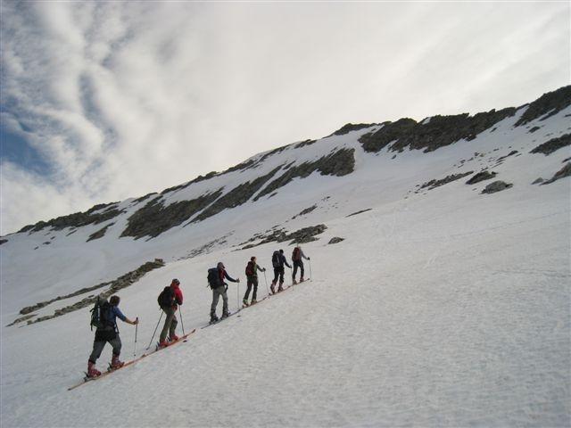 Proti Kolnbreinspitzu (2934m)
