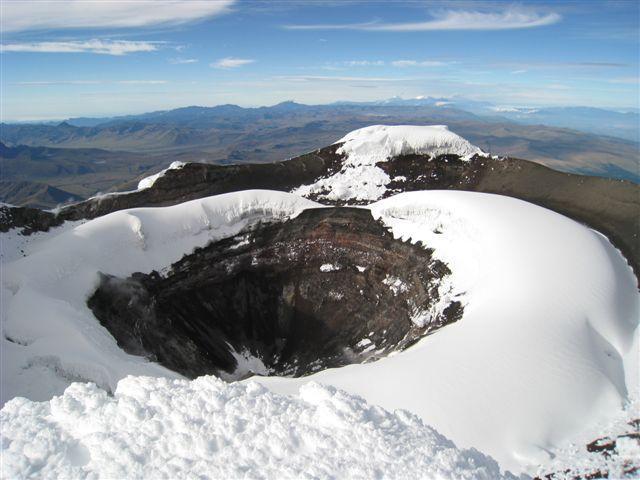 Krater Cotopaxija