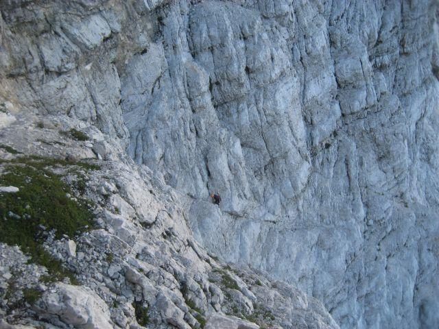 Plezalec v Skalaški