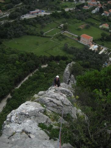 Alenka na grebenu Kastor